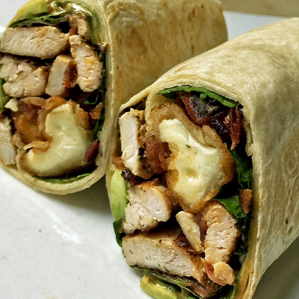 little pub chick n chedda wrap
