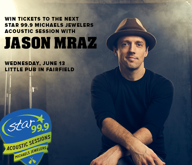 We're going to go out on a limb here and assume you want to win tickets to see Jason Mraz at Little Pub Wednesday June 13th. Hit the link to find out how to do that.