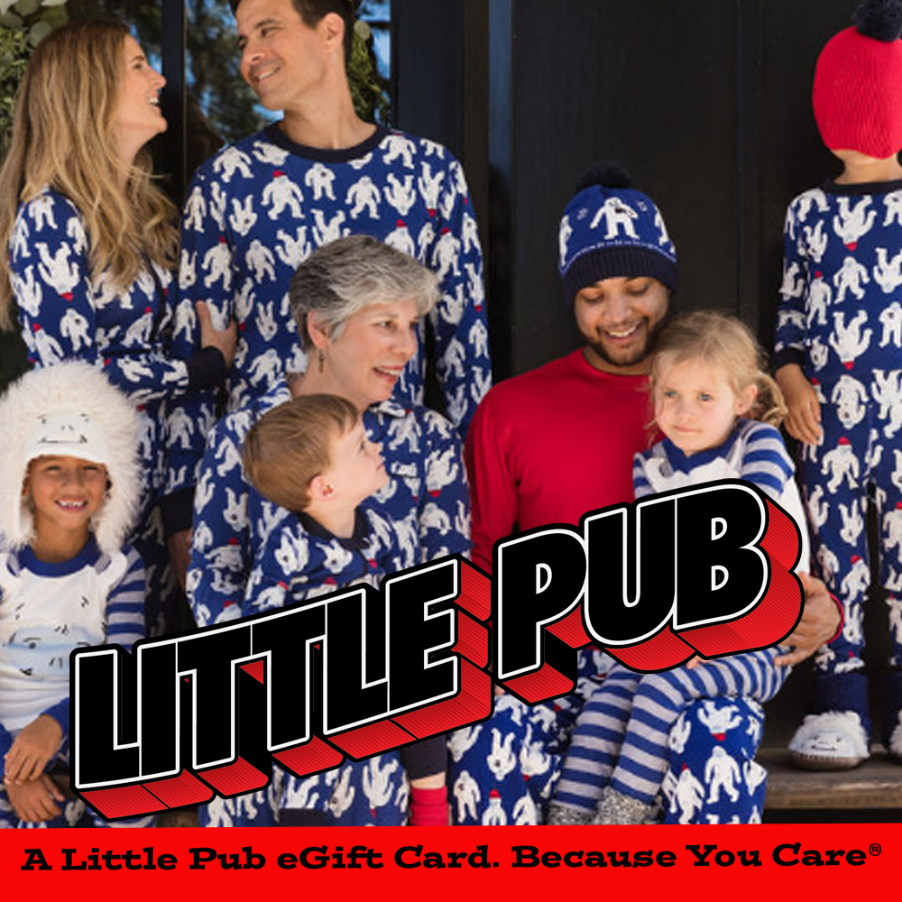 Attention Holiday Shoppers! Did you know you can spend more time with loved ones, save gas, save the environment, and make people happy this holiday season by texting or emailing them a Little Pub eGift card right from the comfort of your couch? How so very thoughtful (and smart) of you! Little Pub eGift Card. Because you care® https://www.toasttab.com/little-pub-greenwich/giftcards